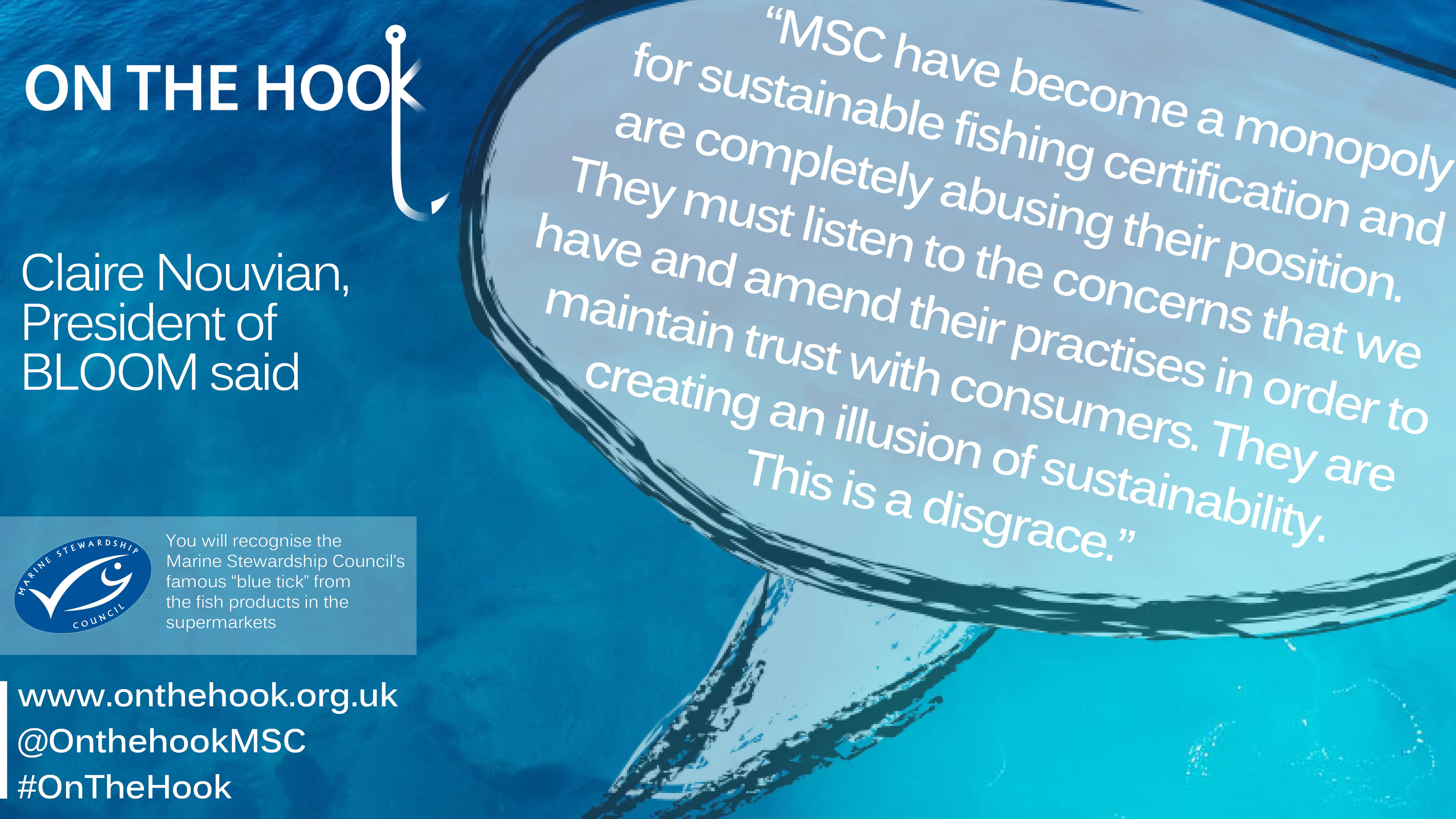 Bloom association msc caught up in a turmoilagain the survey allows us to conclude that a majority of the persons surveyed would lose confidence in the msc should the pna fisherys certificate be renewed xflitez Choice Image