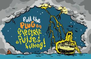 electric fishing comic