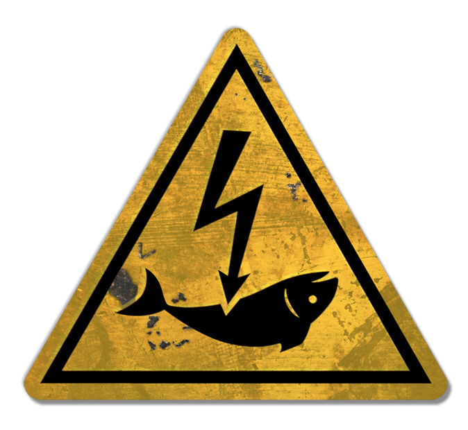 No to the electrocution of fish!