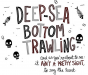 Cartoon deep-sea bottom trawling