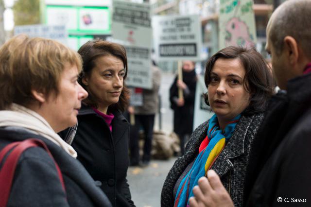 Mutinerie des Abysses - Laurence Abeille, Cécile Duflot et Emmanuelle Cosse