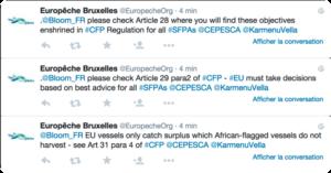 Tweets réponse Europêche
